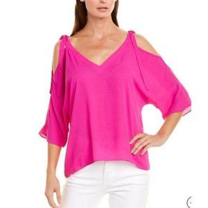 Three Eighty Two Wesley Blouse Hollywood Blouse